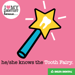 Reason 3 - He-She Knows the Tooth Fairy