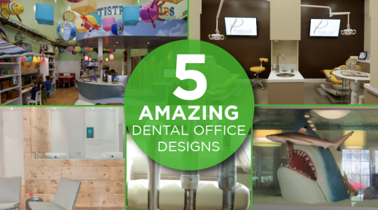 We just can't get over the great designs of these dentist's offices! Which is your favorite?