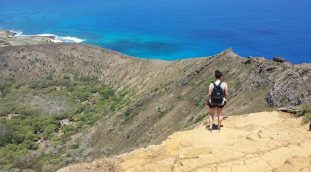 We love hiking in O'ahu!