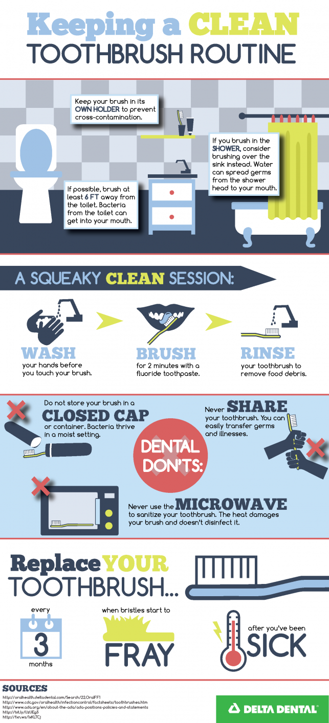 Hawaii Dental Service - Keeping A Clean Toothbrush Routine PNG