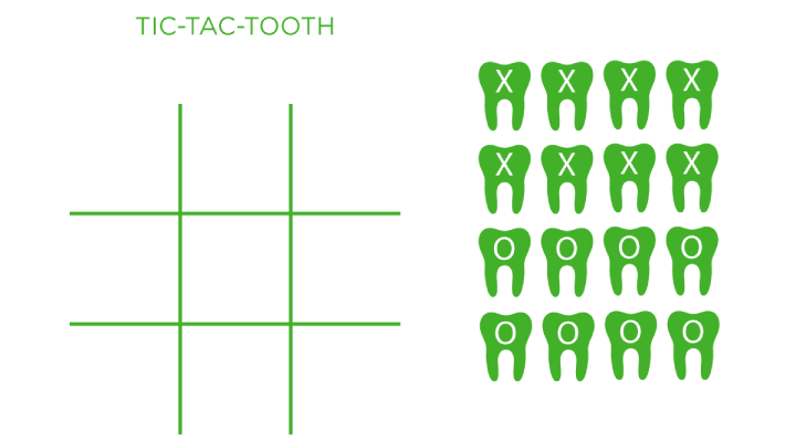 Tic-Tac-Tooth