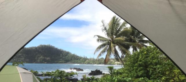 Camping in Hawaii